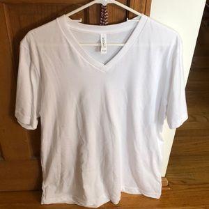 Brand new white v-neck t shirt